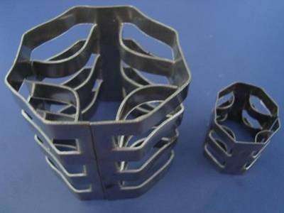 Two metal mellaring rings are in both large size and small size.
