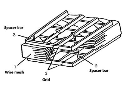 There is a structure diagram of drawer type demister.