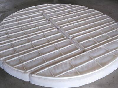 This is a image of PTFE demister from front view.